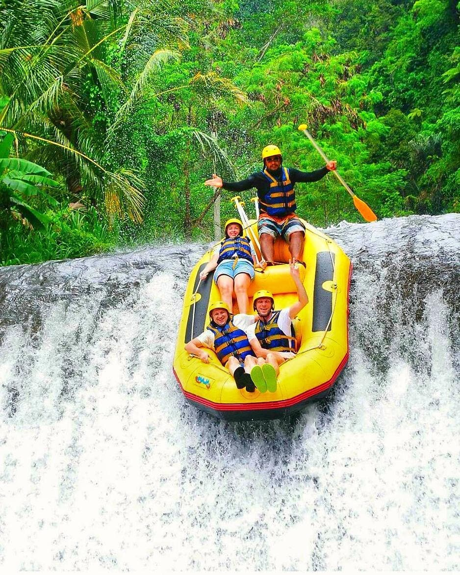 Best tours in Bali from Seminyak - White water rafting